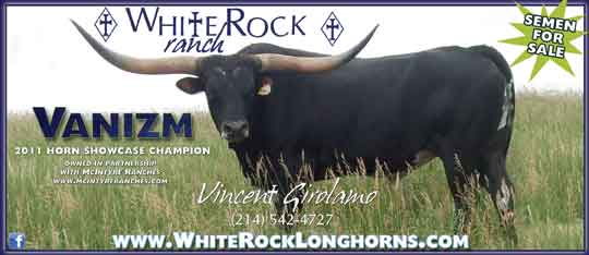Vanizm at White Rock Ranch in Jacksboro, TX